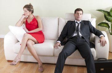 Zmęczony randkami żonatego mężczyzny