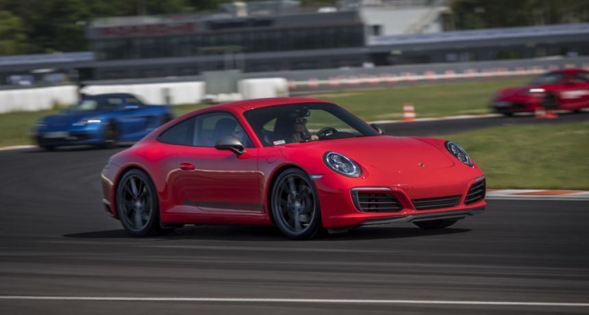 Porsche Driving Experience na torze Silesia Ring