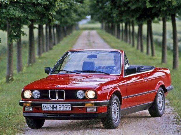 BMW serii 3 E30 cabrio - kultowy kabriolet