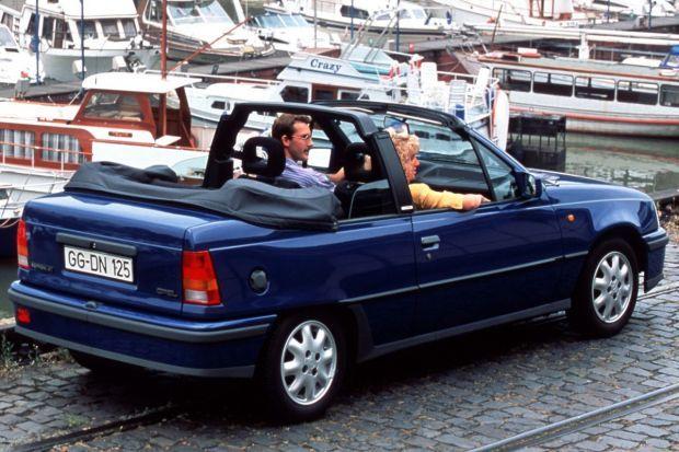 Opel Kadett Cabrio - kultowy kabriolet