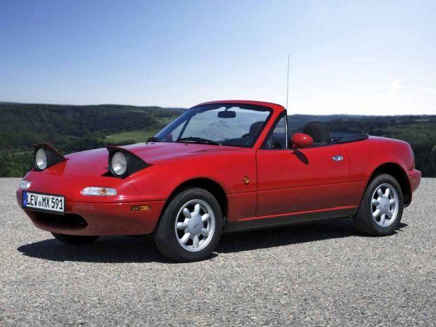 Mazda MX-5 (NA) - kultowy kabriolet