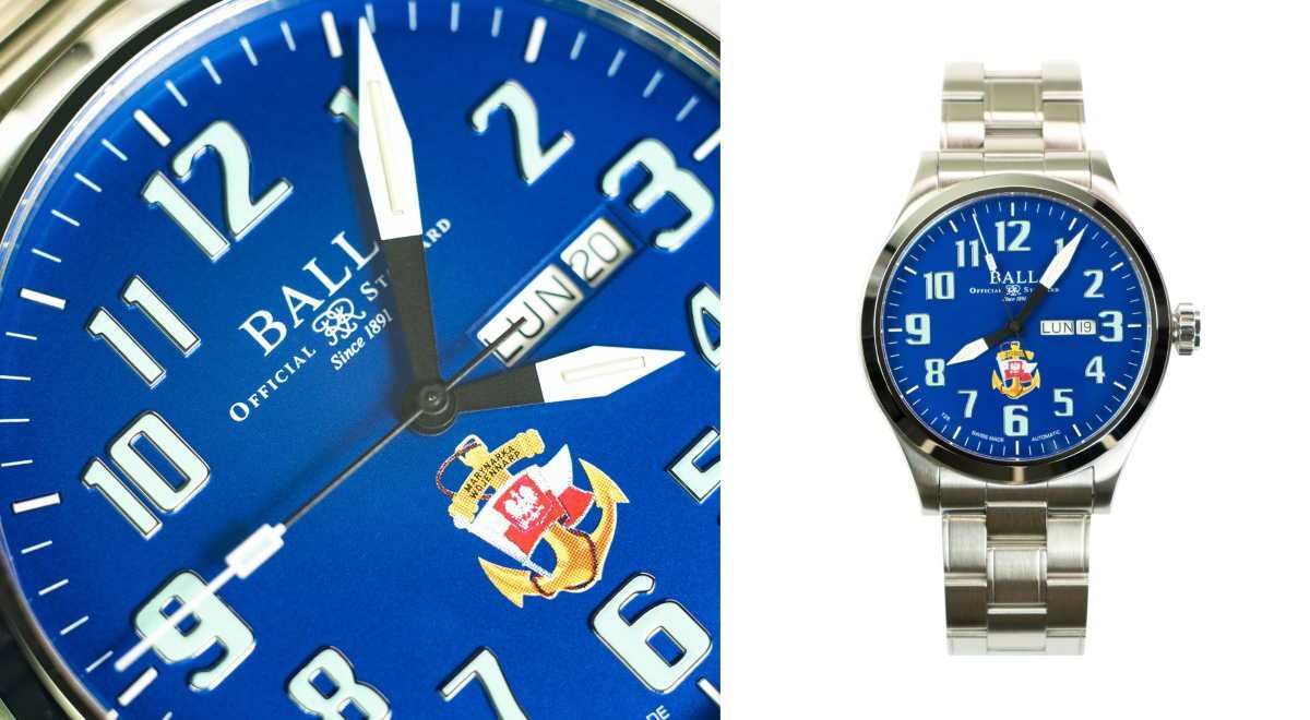 Ball Engineer III Silver Star Polish Navy
